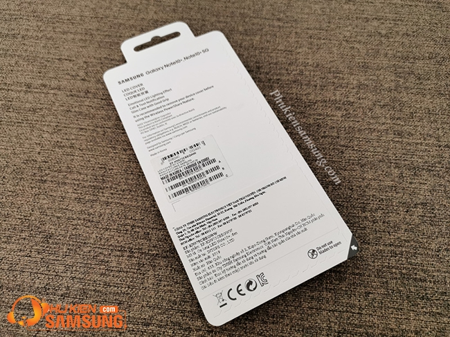op lung galaxy note 10 plus led view gia re 6