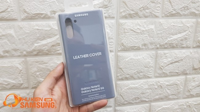 op lung galaxy note 10 leather cover gia re 2