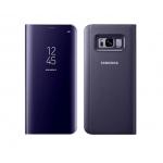 Bao da Clear view Standing cover Galaxy S8