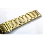Dây đồng hồ kim loại màu vàng 20mm cao cấp