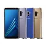 Ốp lưng Clear Cover Galaxy A8 Plus 2018 chính hãng