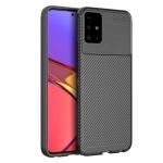 Ốp lưng chống sốc Galaxy A51 Olixar Carbon Fiber